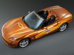 Convertible, Indy, 500, Pace, Car, Corvette, 2007