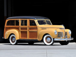 Wagon, 1940, Plymouth, DeLuxe, Station