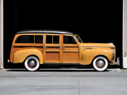 DeLuxe, Station, Wagon, 1940, Plymouth