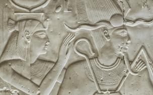 древность, стена, Abydos