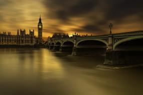 Long exposure, London, Westminster bridge