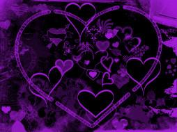векторная графика, сердечки , hearts, сердечко, фон