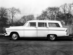 Plymouth, Suburban, Belvedere, Wagon, 1955