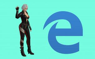 логотип, фон, взгляд, девушка