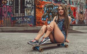 скейт, тату, пирсинг