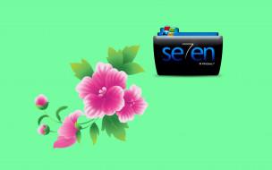 цветы, лепестки, фон, логотип