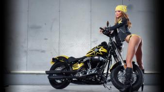 мотоциклы, мото с девушкой, красивая, девушка, marissa kimberlin