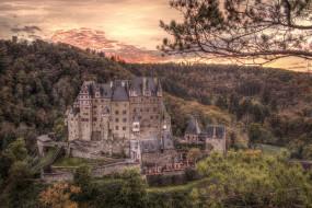 замок, горы