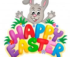 кролик, пасха, яйца