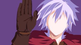 аниме, no game no life, фон, силуэт