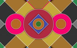 узор, линии, фон, цвета