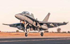mcdonnell douglas cf-188 hornet, авиация, боевые самолёты, ввс