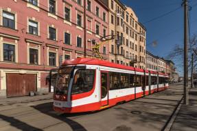 трамвай, техника, трамваи, улица, город