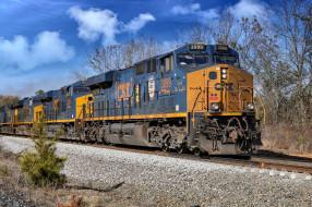 техника, локомотивы, дорога, железная