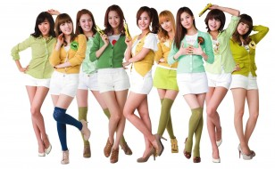 girls generation , snsd, музыка, фон, улыбки, взгляд, девушки
