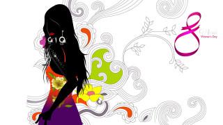 праздничные, международный женский день - 8 марта, праздник, 8, марта, девушка, взгляд, фон, международный, женский, день