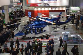 aw 139, авиация, вертолёты, вертолет, крокус, экспо, павильон, helirussia, 2016, выставка, aw, 139