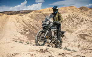 2018 triumph tiger 800 xca, мотоцикл, триумф