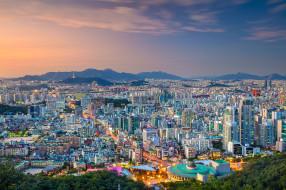 seoul, города, сеул , южная корея, простор