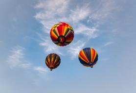 спорт, небо, шары