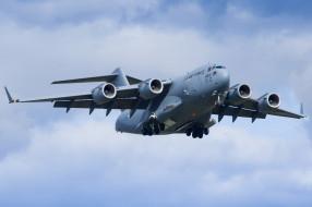 boeing c17 globemaster, авиация, военно-транспортные самолёты, войсковой, транспорт