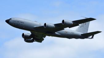 boeing kc-135r stratotanker, авиация, военно-транспортные самолёты, войсковой, транспорт