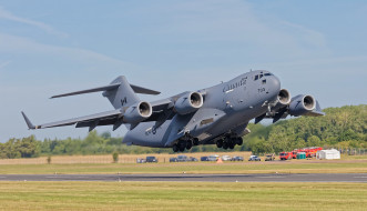 mcdonnell douglas c-17 globemaster iii, авиация, военно-транспортные самолёты, транспорт, войсковой