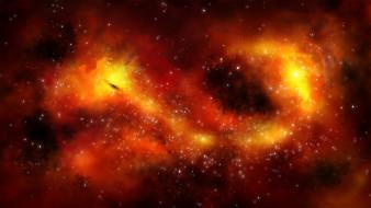 облако, галактика, туманность, звезды