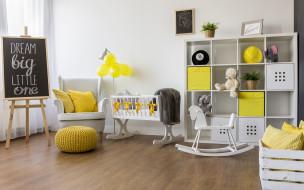 Детская комната, Интерьер, Мебель, Стиль