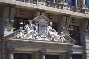 барселона, разное, элементы архитектуры, люди