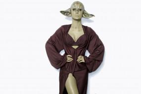 Sara Jean Underwood, маска, Звездные Войны, Йода, халат