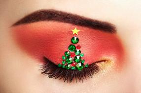 макро, девушка, makeover christmas tree, Oleg Gekman