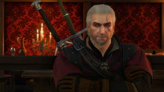 протагонист, Geralt, ведьмак, hunter, The Witcher 3 Wild Hunt, Геральд