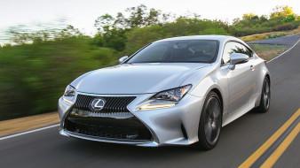 Lexus, 2018, серебряный, RC, 300, металлик