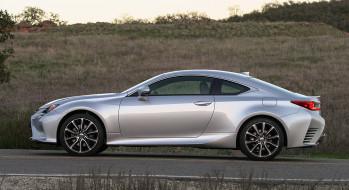Lexus, 2018, серебряный, металлик, RC, 300