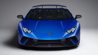 Performante, 2019, Huracan, Spyder, blue, Lamborghini