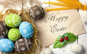 праздничные, пасха, decoration, colorful, wood, easter, яйца, крашеные, eggs, spring, happy