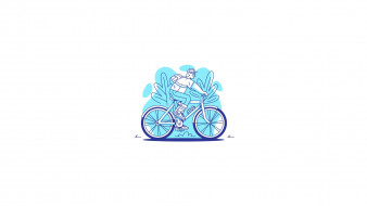 велосипед, турист