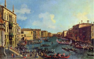 channel, port, romantic, italy, venezia, parking, джованни антонио каналь, художник, dock, gondolas, lagoon
