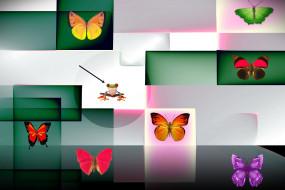векторная графика, животные , animals, фон, форма, цвет