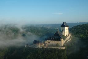 karlstejn castle, города, замки Чехии, karlstejn, castle