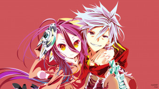 аниме, no game no life, двое