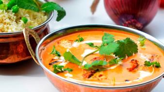 индийская, кухня, суп