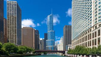 usa, город, Иллиноис, chicago, небоскребы, Чикаго, Мичиган