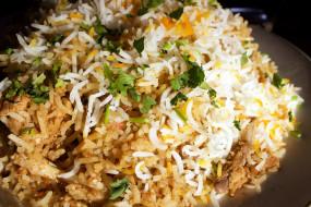кухня, рис, индийская