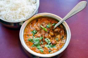 кухня, суп, рис, индийская