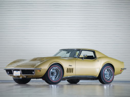 Chevrolet Corvette C3 Stingray L88, Корвет, светлый, ретро, Шевроле