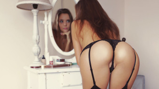 Katya Clover, Девушка, модель