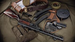 ППШ-41, Подсумок, ТТ-33, Магазин