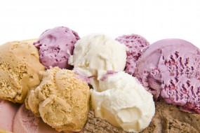 лакомство, ассорти, мороженое